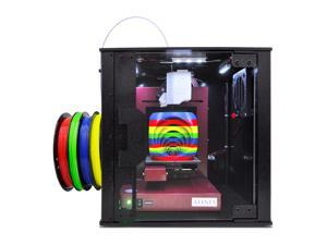 Afinia 3D Printer, Enclosure and Rainbow Filament Bundle