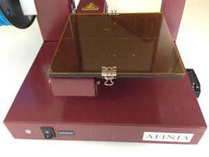 Octave Borosilicate glass platform for Afinia and UP! 3D Printers