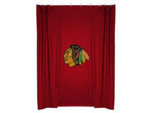 Nhl Chicago Blackhawks Shower Curtain Bathroom Accessories
