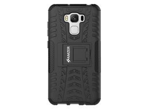 Asus ZenFone 3 Max ZC553KL Case, Heavy Duty [Shockproof] Hybrid Hard Snap On Anti Slip Warrior Armor Protective Cell Phone Case Cover with Stand & Flexible Inner Layer, Reinforced Hard Bumper Frame