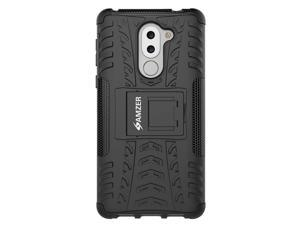 Amzer Impact Resistant Rugged Hybrid Warrior Case Cover for Huawei Honor 6X 2016