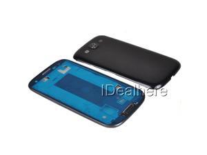 Black Full Replace Housing Battery Back Cover for Samsung Galaxy S3 i9300