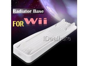White Replacement Radiator Stand Base for Nintendo Wii U Console