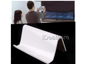 White Portable Durable Bracket Stand Kickstand for Nintendo Wii U