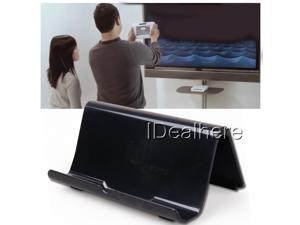 Black Portable Durable Bracket Stand Kickstand for Nintendo Wii U