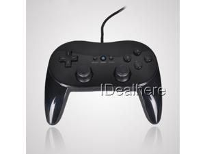 Black Dual Analog Joystick Joy Pad Controller Game Pad For Nintendo Wii