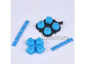 Blue Button Keypad Replacement Button Repair Parts Set For PSP 3000