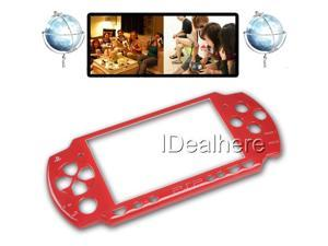 Red For PSP 2000 Faceplate Shell Case Cover Replace Part