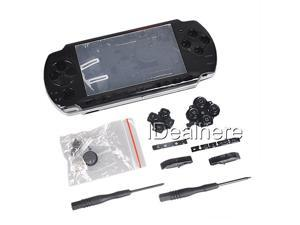 Black Full Housing Kit Shell Case for PSP 3000 +2Screwdrivers