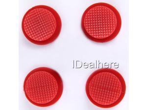 4x Red Joystick 3D Cap Cover For PSP2000/3000 Parts