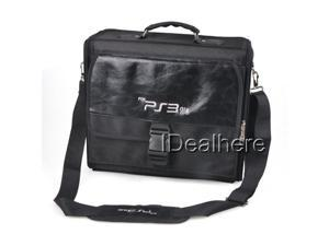 Nylon Portable Compact Travel Bag Carrying Case for PS3 SLIM Console Accessories