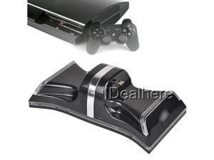 New Dual Charge Station Charging Stand for PS3 Playstation3 Controllers