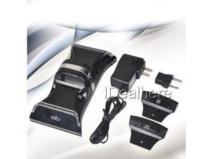 Sensor Dual Controller Charger Station Charging Dock for Playstation3 PS3 & Slim