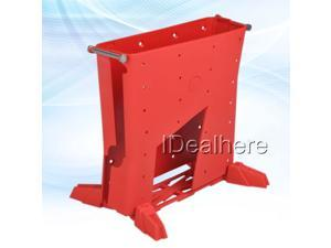 Red High-quality Plastic Housing Shell Case for Xbox360 Slim Console Using