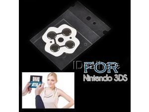 New Replacement Contact Conductive Button Pad Repair Part for Nintendo 3DS