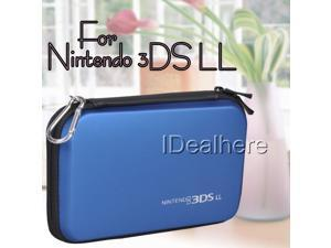 Dark Blue EVA Skin Hard Bag Pouch Cover Carrying Case for Nintendo 3DS LL