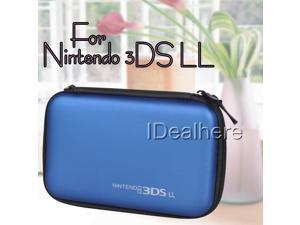 New! Dark Blue EVA Skin Hard Pouch Case Cover for Nintendo 3DS LL