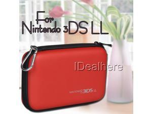 New! Red EVA Skin Hard Pouch Case Cover for Nintendo 3DS LL
