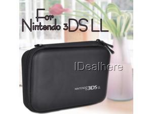 New! Black EVA Skin Hard Pouch Case Cover for Nintendo 3DS LL