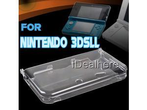 Transparent Crystal Protective Shell Case Cover For Nintendo 3DSLL