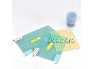 3pcs 2in 1 Green LCD Screen Protector Cover Film for Nintendo 3DS LL