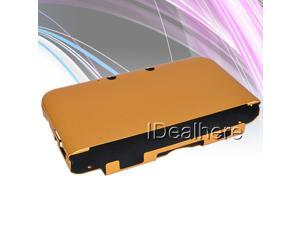 Golden Aluminum Protective Shell Case Cover w/ Flannel inside For Nintendo 3DS LL
