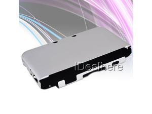 Silver Aluminum Protective Shell Case Cover with Flannel inside For Nintendo 3DSLL