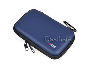 Eva Protective Pocket Pouch for Nintendo 3 DS Deep Blue