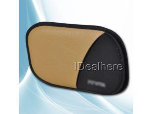 Tan Protective Leather Soft Cover Case for VITA PSV PS VITA