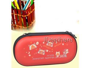 Red Hard Protetiv Case Cover Bag for PSV PS Vita Playstation