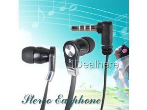 3.5mm Black Stereo in-ear Earphone