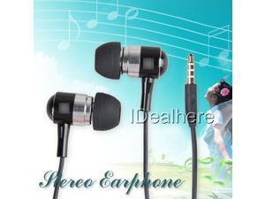 Black 3.5mm Stereo Earphone