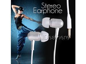 Silver 3.5mm Stereo Earphone