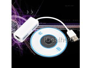 USB 2.0/1.1/1.0 LAN Female RJ45 10/100Mbps Fast Ethernet Network Adapter