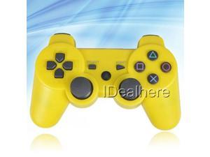 Wireless Game Controller for Playstation3 PS3-Yellow