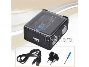 New 3 in 1 Travel Charger Battery Power Supply Pack Kit for 3DS Console