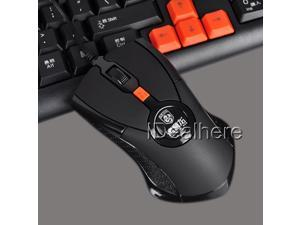 Black Sensitive 1600DPI 3000FPS USB Wired Optical Gaming Mouse