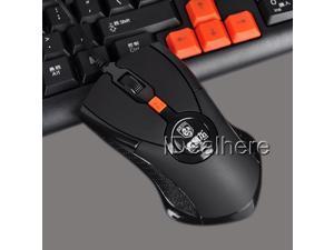 Black Sensitive 1600DPI 3000FPS USB Wired Optical Gaming Mouse
