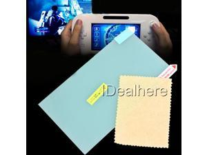 2pcs Green LCD Screen Protector Film Guard for Nintendo Wii U Game Controller