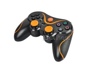 PS3 Wireless Gaming Controller for Playstation3 PS3 Black & Orange