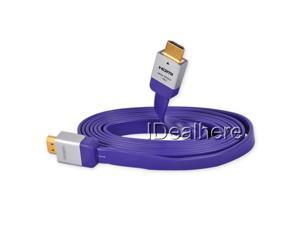 6.7FT/2M 3D High Speed 1080P HDMI Cable for Sony PS3 XBOX360 3D HDTV Purple