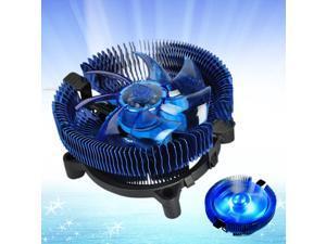 4Pin PWM LED CPU Cooler Heatsink Ultra Silent Fan for Intel 775 AMD 754/939/AM2