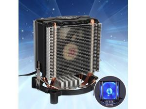 3 Pin Dual-Towers CPU Cooler Heatsink Fan for Intel LGA775/1155/1156 AMD/AM2/AM2+/AM3
