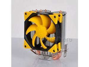 PC CPU Cooler Heatsink PWM Fan For Inter LGA2011/1156/1155 AMD 939/AM2/AM3/FM1