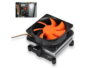 80mm CPU Cooler Fan Heatsink for Intel 775/1155/1156 AMD AM2/FM1