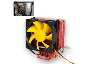 80mm Ultra Silent CPU Cooler Heatsink Fan for Intel 775/1155/1156 AMD 754/939