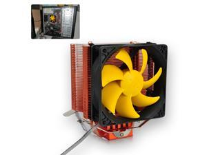20dBA Silent Heatsink CPU Cooler Fan for Intel LGA775/1156/1155 AMD AM2/AM2+/AM3