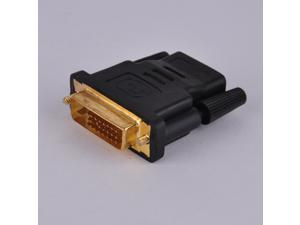 HDMI Female to DVI (24+1) Dual Link Pin Male Converter Adapter