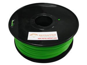 RepRapper ABS 1.75mm 3D Printer Filament Compatible with Makerbot/ Afinia/ UP/ Solidoodle/ NewStarWay Color Green