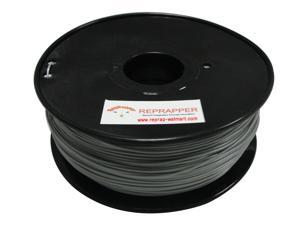 RepRapper ABS 1.75mm 3D Printer Filament  Compatible with Makerbot/ Afinia/ UP/ Solidoodle/ NewStarWay Color Silver